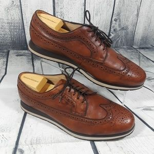 Florsheim Limited Wingtip Lace up Brown Leather 11